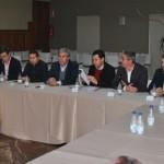 El presidente andaluz del PP se reune con los empresarios bailenenses