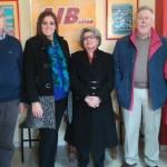 Más de tres mil euros entrega AIB a AFAMP por el Teatro Solidario