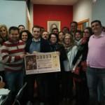 El PSOE quiere compartir la ilusión de la lotería con sus vecinos