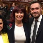 Felipe Sicilia toma posesión de su escaño en el Congreso de los Diputados