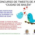 Concurso de Tweets de Amor para celebrar el Día de los Enamorados