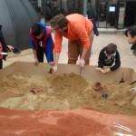 Una veintena de jóvenes se adentran en el mundo de la arqueología