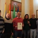 La Asociación General Reding otorga la Medalla de Artillería al ayuntamiento de Bailén