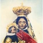 26. Una imagen coloreada de la Virgen de Zocueca