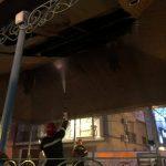 Un incendio en el atrium del Paseo desluce la Feria del Libro