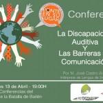 Juventudes presenta una conferencia sobre la discapacidad auditiva