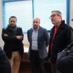 El diputado de empleo visita las instalaciones de Andalucía Orienta