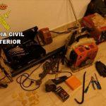 Cuatro detenidos por robar en casas de campo de Bailén