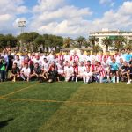 Casi dos mil seguidores siguen el partido de veteranos entre Real Jaén y Athletic