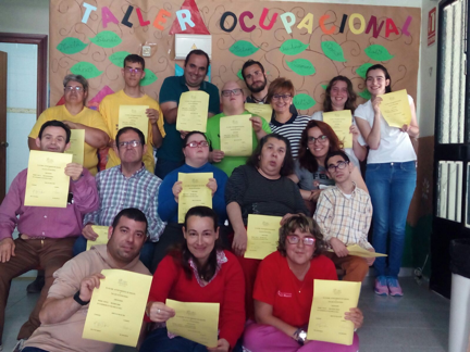 Los alumnos del taller ocupacional participan en el curso - Curso cocina basica ...