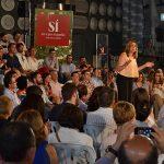 Susana Díaz abre la precampaña socialista en Bailén