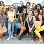 Dieciséis bailenenses participan en el Taller de Maquillaje de Noche y Fiesta