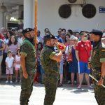 El pueblo de Bailén y el ejército, unidos en su despedida