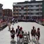 Bailén recibe a los recreadores que participarán en la Batalla de Bailén