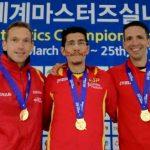 Jose Javier Olea arrasa en el Mundial de Veteranos de Daegu