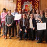 El ayuntamiento reconoce la labor de los voluntarios en la Recreación de la Batalla