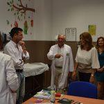 La presidenta de la Junta visita el nuevo centro de salud de Bailén