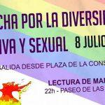 Este sábado se celebra la I Marcha por la Diversidad Sexual y Afectiva en Bailén