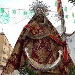 Miles de bailenenses arropan a la patrona en la romería