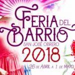 Programación del penúltimo día de la Feria del Barrio