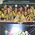 Gran papel de las guerreras del UBBailén en el Campeonato Andaluz