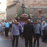 San Isidro procesiona por las calles de la ciudad