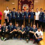La participación del infantil del Balonmano Bailén en el Campeonato de España en el aire