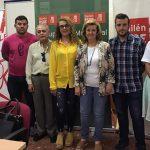 Teresa Vega participa en la asamblea sobre la Ley de Dependencia organizada por el PSOE de Bailén
