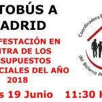 Viaje a Madrid para participar en la manifestación por la defensa de las pensiones
