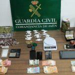 Desarticulados tres puntos de droga en Bailén que deja siete detenidos
