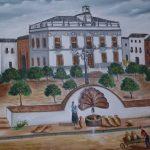 Un monolito de la Fuente Vieja volverá a la Plaza de la Constitución