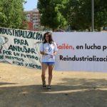 Concentración para la reindustrialización de la comarca y el empleo digno