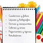 Colabora con la recogida de material escolar