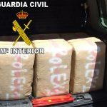Detenidas dos personas en la A-4 a la altura de Bailén con 300 kgs de hachís