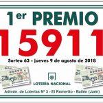 El Romerito vuelve a repartir suerte, esta vez con la Lotería Nacional