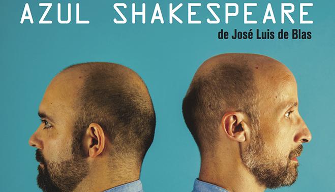 Detalle del cartel de Azul Shakespeare