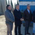 Mejoras en el depósito de agua de Bailén