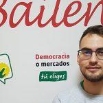 Miguel Ángel Serrano Picadizo, candidato de IU a la alcaldía de Bailén