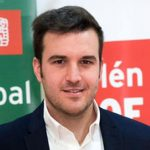 Víctor Abolafia, candidato del PSOE a la alcaldía de Bailén