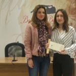 Laura Oliver ganadora del XXV Certamen de Cartas de Amor